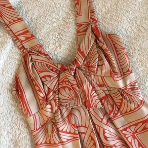 Silk Anthropologie dress